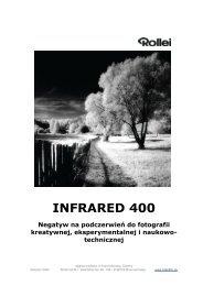 INFRARED 400 Negatyw na podczerwień do fotografii kreatywnej ...