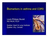 BioMarkers in Asthma & COPD - Boulet - World Allergy Organization