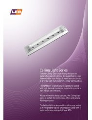 Ceiling Light Series - LEO Industries