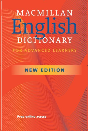 macmillan dictionary - Macmillan Education