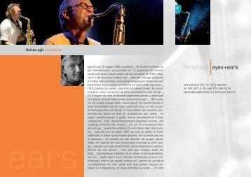 florian egli saxofonist - eyes-ears.ch