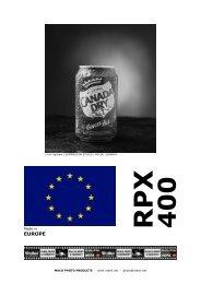 Rollei RPX 400 - HANS O. MAHN & CO. KG