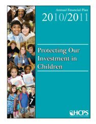 2010-11 Annual Financial Plan - Henrico County Public Schools