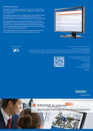 Download Flyer (PDF) - Krohne