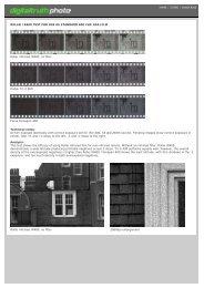 Infrared film comparison