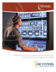 VPanel - GSE Systems, Inc.