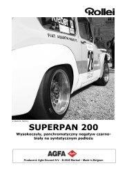 SUPERPAN 200 Wysokoczuły ... - HANS O. MAHN & CO. KG