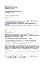 Protokoll 1. März 2007 - Arbeitsgruppe der Koordinator(inn)en in der ...