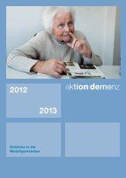 Übersicht und Informationen - Aktion Demenz