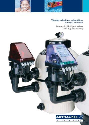 Válvulas selectoras automáticas System VRAC AstralPool - Poolaria