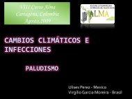 CAMBIOS CLIMÁTICOS E INFECCIONES PALUDISMO