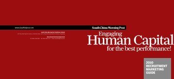 Classified Post - The Marketer & Recruiter - South China Morning Post
