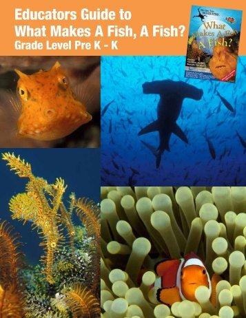 What Makes A Fish, A Fish PreK-K - Annie Crawley