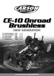 CE-10 Onroad Chassis NEW GENERATION - Tamiya
