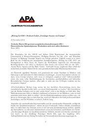 """Petritsch fordert """"Vereinigte Staaten von Europa"""" 20 November 2012 ..."""