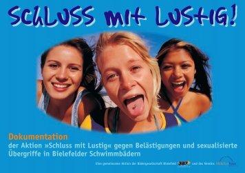 schluss mit lustig! - Mädchenhaus Bielefeld e.V.