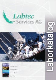 Laborkatalog komplett - Labtec Services AG