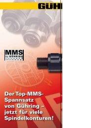 Der Top-MMS- Spannsatz von Gühring – jetzt für ... - Gühring oHG