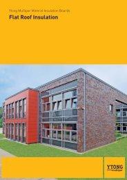 Brochure Multipor flat roof insulation - Xella UK
