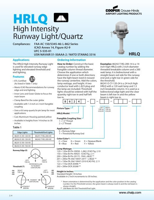 High Intensity Runway Light Quartz Oksolar Com