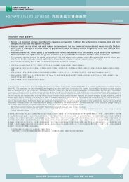 Parvest US Dollar Bond 百利達美元債券基金 - BNP Paribas