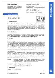 CC-Aktivreiniger R 280 - Dr. Schutz