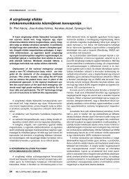 A sürgősségi ellátás infokommunikációs közműjének ... - IME
