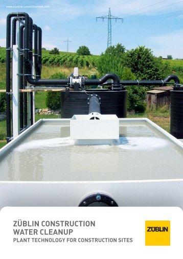 züblin construction water cleanup - Züblin Umwelttechnik GmbH