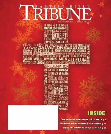 Was Jesus married? - Baptist Bible Tribune