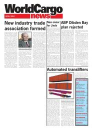 April front cover - WorldCargo News Online