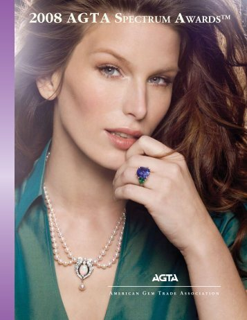 2008 agta sPECTRUM aWARDSTM - American Gem Trade ...