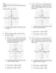 , , 2 T x y T x y ′→ − A B C ′ ′ ′ ≅ , 1, T x y T x y ′→ + ABC ...