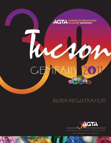 Buyer registration - American Gem Trade Association