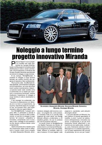 Noleggio a lungo termine progetto innovativo ... - Porto & diporto