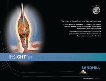 INSIGHT™ - Sandhill Scientific