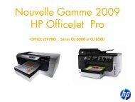 Nouvelle Gamme 2009 HP OfficeJet Pro