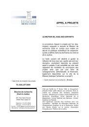 A.O page de présentation le metier de procureur - Cesdip