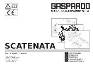 Spare Parts SCATENATA 2012-02 - Maschio Deutschland GmbH