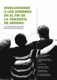 INVOLUCRANDO A LOS HOMBRES EN EL FIN DE LA ... - Promundo