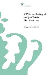 CFD simulering af miljøeffektiv forbrænding - Miljøstyrelsen