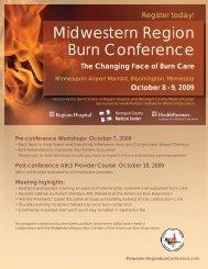 Midwestern Region Burn Conference - American Burn Association