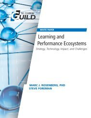 Learning and Performance Ecosystems - Strategy, Technology, Impact, and Challenges (Nov 14)
