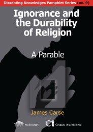 Ignorance and the Durability of Religion - Multiworld India