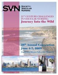 Journey Into the Wild - Society for Vascular Nursing