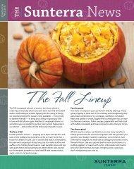 The Fall Lineup - Sunterra Market