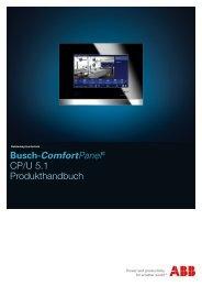 Busch-ComfortPanel® CP/U 5.1 Produkthandbuch