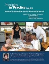 Principles in Practice flier