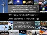 Kennedy TEAC3 - Thorium Energy Alliance