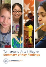 Turnaround Arts Phase 1 Final Evaluation_Summary