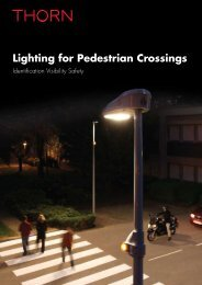 Lighting for Pedestrian Crossings - THORN Lighting